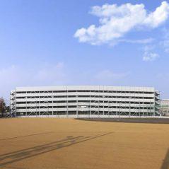 徳島大学(蔵本)立体駐車場