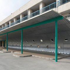 新難波特別支援学校整備工事